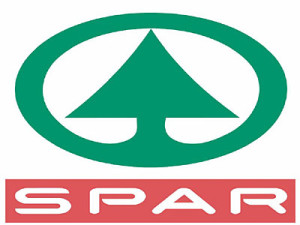 Spar logo. copyright retained by Spar