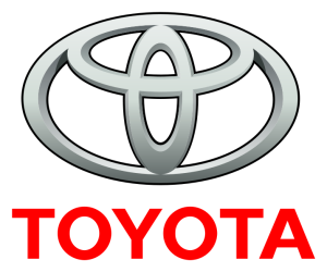 Toyota logo. Copyright retained by Toyota.